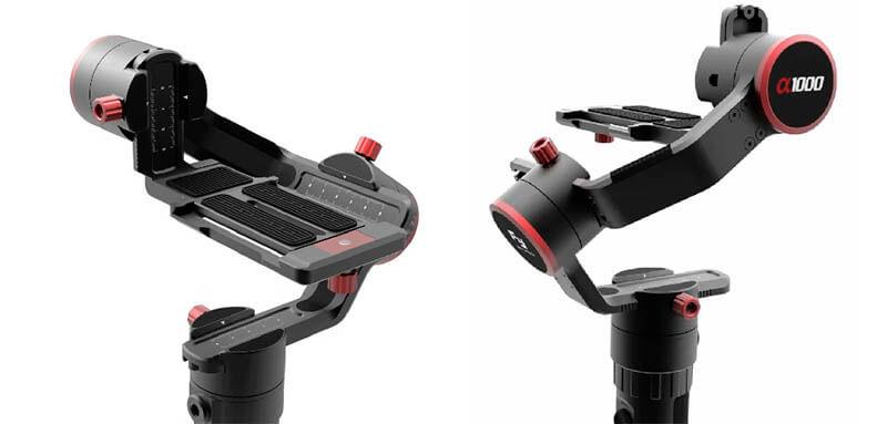 Feiyu飛宇 a1000微單眼相機三軸穩定器(不含相機)-單手持/雙手持套裝|先創國際