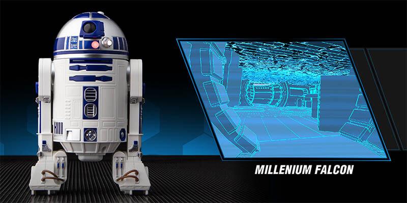 Sphero 星際大戰R2-D2智能遙控機器人|AR擴增實境與APP遊戲|先創國際