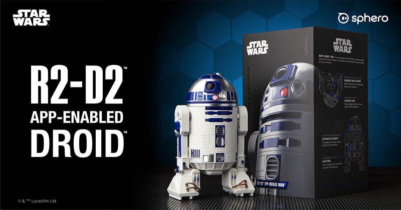 Sphero 星際大戰R2-D2智能遙控機器人|包裝清單|先創國際