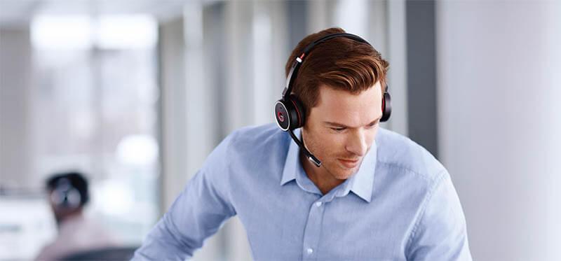 Jabra Evolve75 無線藍牙耳機麥克風|先創國際