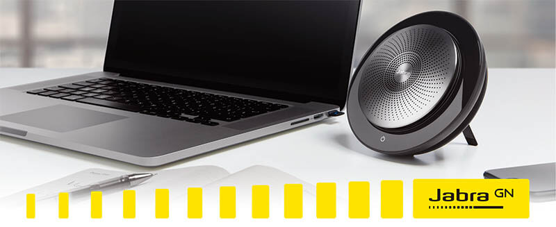 Jabra Speak 710 無線串接式喇叭揚聲器|創新無線串接式喇叭揚聲器 音質超凡 適用於電話會議和播放音樂|先創國際