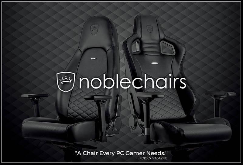 Noblechairs皇家ICON系列電競超跑椅-真皮尊爵款|先創國際