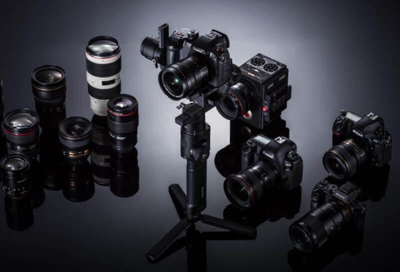 "DJI ""如影S"" Ronin S 專業手持雲台-適用數位單眼相機|良好的相機兼容性|先創國際"