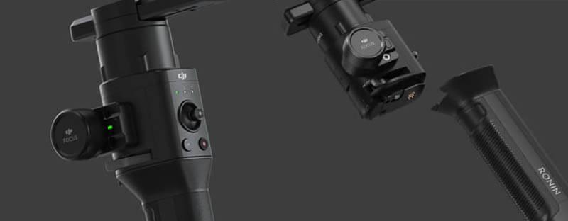 "DJI ""如影S"" Ronin S 專業手持雲台-適用數位單眼相機|單手掌握|先創國際"