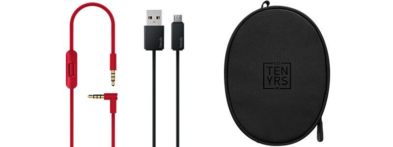 Beats Solo 3 Wireless 耳罩式耳機-Decade Collection 桀驁黑紅色|先創國際