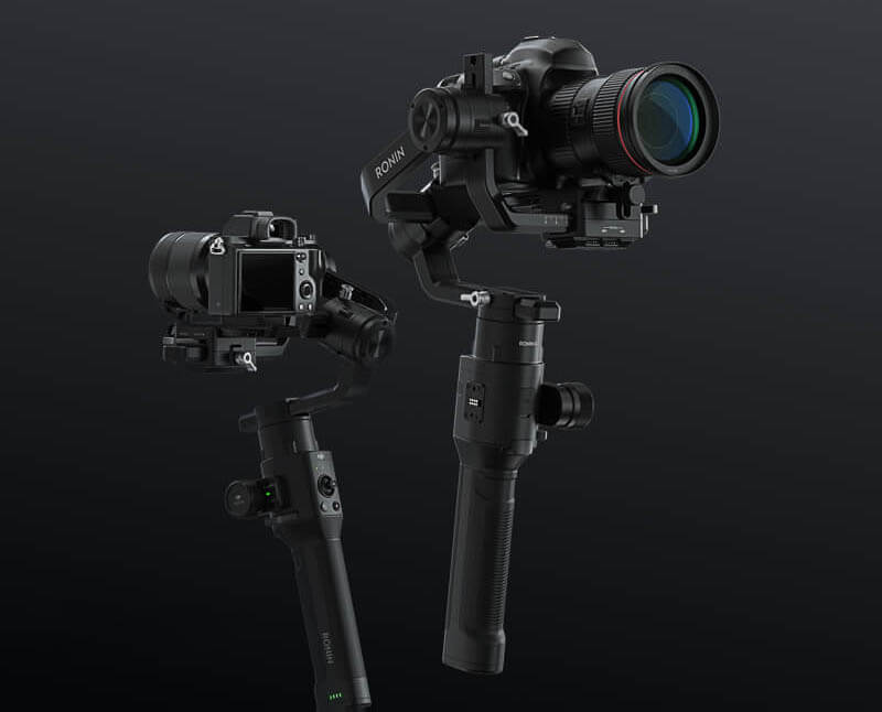 "DJI ""如影S"" Ronin S 專業手持雲台-適用數位單眼相機|卓越性能|先創國際"