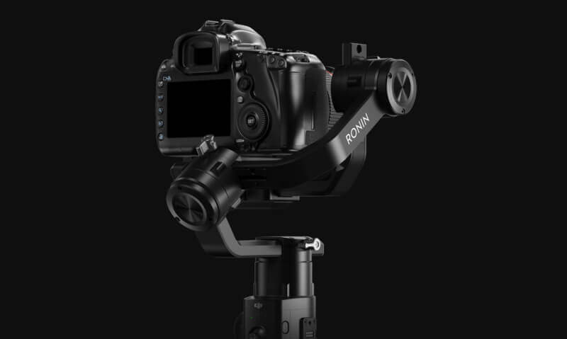 "DJI ""如影S"" Ronin S 專業手持雲台-適用數位單眼相機|創新結構設計|先創國際"