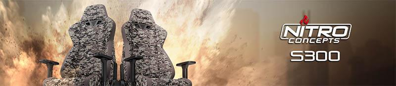 Nitro Concepts S300 電競賽車電腦椅ï½品牌ï½å…創å‹éš›