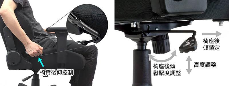 Nitro Concepts S300 電競賽車電腦椅|可任意調節的椅背與後仰角度|先創國際