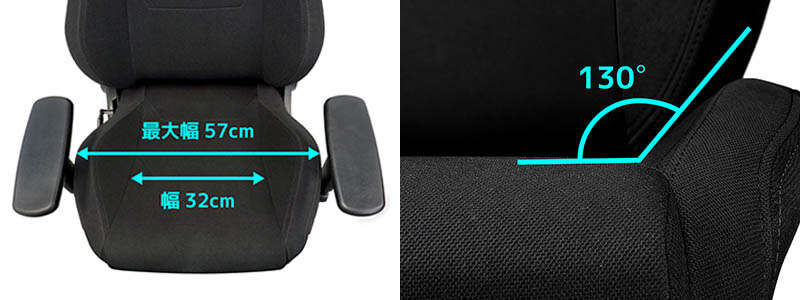 Nitro Concepts S300 電競賽車電腦椅|舒適地坐在寬闊的座椅表面上|先創國際