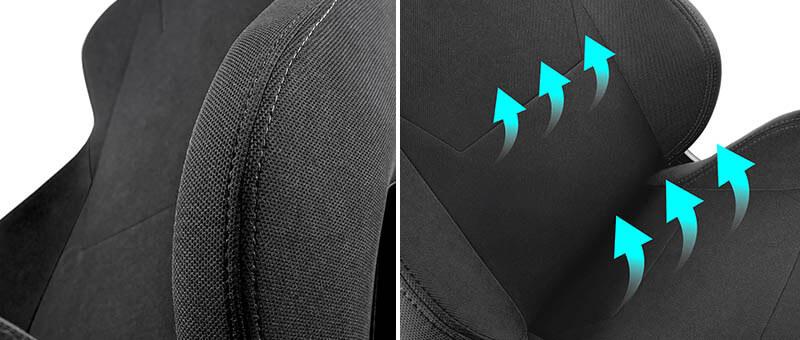 Nitro Concepts S300 電競賽車電腦椅|舒適厚實的椅墊與面料|先創國際