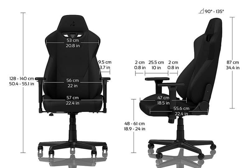 Nitro Concepts S300 電競賽車電腦椅|規格|先創國際