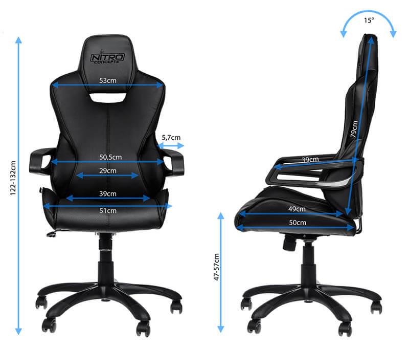 Nitro Concepts E200 RACE辦公電腦椅|先創國際