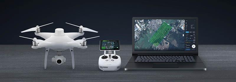 DJI Phantom4 RTK 高精度航拍無人機|先創國際