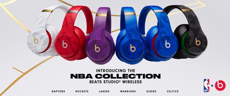 Beats Studio3 Wireless 頭戴式耳機-NBA Collection|先創國際