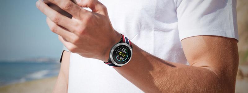 雙揚Q90 心率運動手錶-具遠端健康關懷功能 | 先創國際