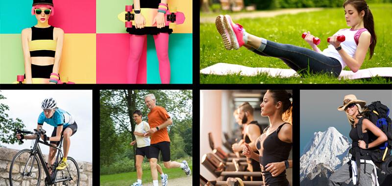 雙揚Q82 心率運動手錶-具遠端健康關懷功能 | 先創國際