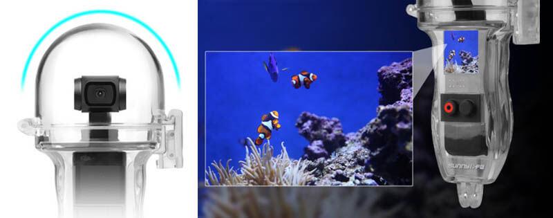 Sunnylife OSMO Pocket配件-60米防水殼|不遮擋視線|先創國際
