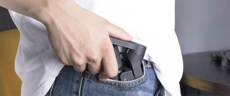 Feiyu飛宇 VLOG pocket 折疊式口袋三軸穩定器|摺疊放口袋,方便好攜帶|先創國際