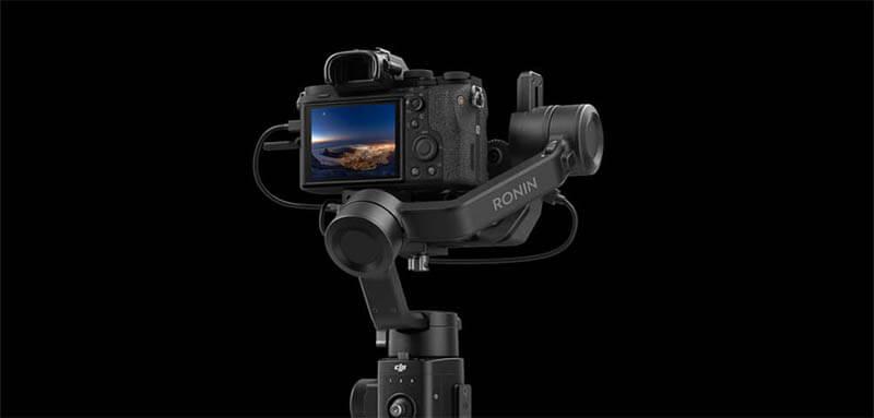 DJI Ronin SC 微單眼相機三軸穩定器|不易遮擋相機螢幕|先創國際