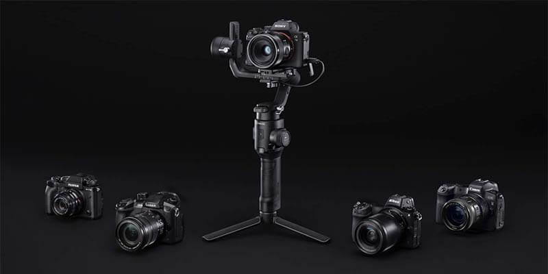 DJI Ronin SC 微單眼相機三軸穩定器|可配搭大多數微單眼相機使用|先創國際