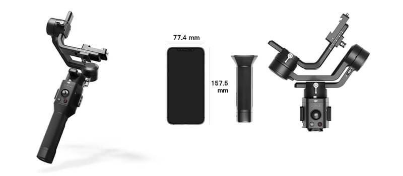 DJI Ronin SC 微單眼相機三軸穩定器|重量僅 1.1 kg|先創國際